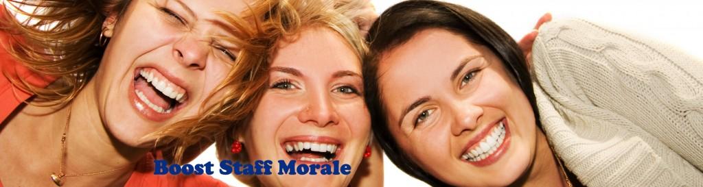 Boost Staff Morale