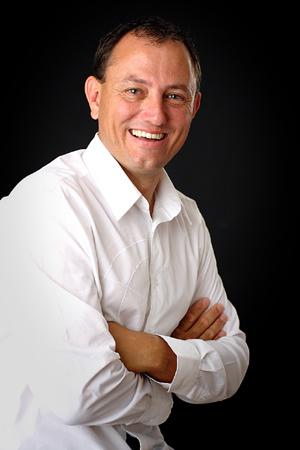 Bruce Sullivan white shirt
