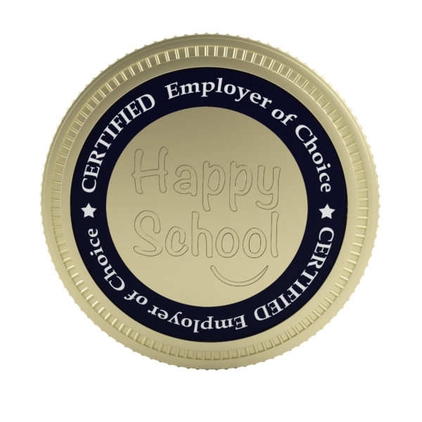 happy-school-employer-of-choice-badge-front
