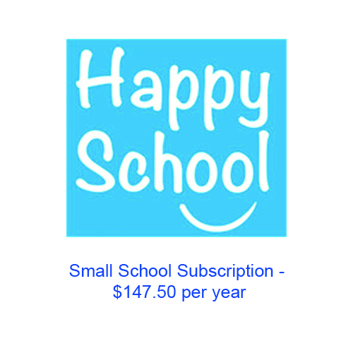 Happy Schools Small School Invoice