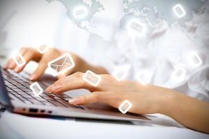 email typing envelopes